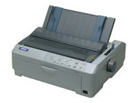 EPSON FX890 A4 PAR 9needle printer 240x144dpi A4 680cps letter 128KB