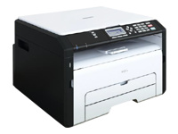 RICOH MFP SP 211SU (22 ppm copy/print/scan cover GDI USB 1x150 + 1 sheets)
