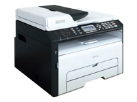 RICOH MFP SP 211SF (22 ppm copy/print/scan/fax ADF GDI USB 1x150 + 1 sheets)
