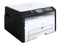 RICOH MFP SP 213SUW (22 ppm copy/print/scan cover GDI USB/Wifi 1x150 + 1 sheets scan to e-mail)