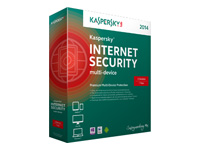 KASPERSKY Internet Security Multi Device 2-PC 1 Year new license