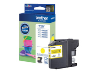 BROTHER LC221Y ink yellow 260 pages